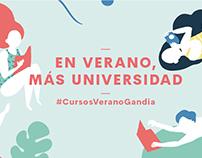 A l'estiu, més universitat - UPV | Campaña publicitaria