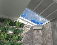 01/2017 Interior Design and Vray 3D Model SOCIAL AREA