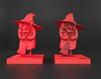 Szlak Ślonski Godki Characters Models