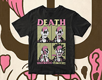 Death By Roll-Up | T-Shirt Illustration