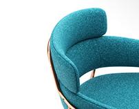 3d model: Strike-P Armchair by Debi