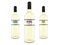Aglianico, Falanghina & Greco Wine Labels