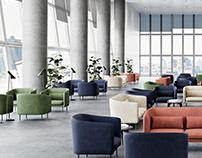 UN Delegates' lounge