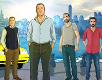 TV Show  Concept Board