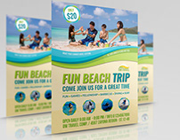 Tour and Travel Flyer Template Vol.3