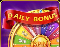 Casino slots.