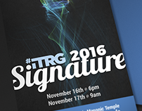 ITRG 2016 Signature Event Ticket