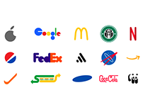 Famous Logos: Re-imagined