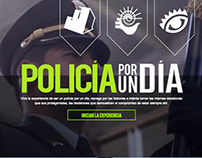 Policía por un día