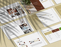 Winston: Brand Identity Guidelines Template (PPT)