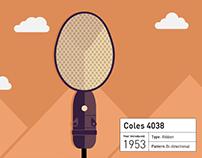 Nathan Sheehy's favourite mics
