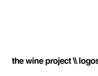 The Wine Project :: Logos