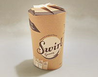 Swirl - Coffee Gummy Product Packaging Design