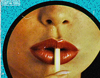 """Psykotrash"" LP digital artwork."