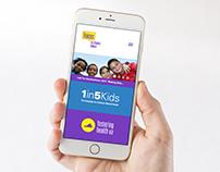 Voices for Virginia's Children Website Design