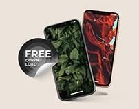 FREE PHONE 11 - App Presentation Mockup