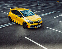 Renault Clio RS.  The babyRocket.