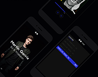 Martin Garrix - Website Design Concept