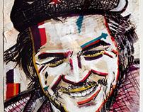Che-Ernesto-Guevara-Painting-Portrait-Fidel-Castro-Sp
