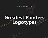 Gratest Painters Logotypes