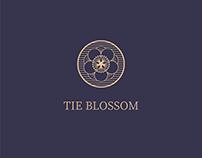 Brand identity for TIE BLOSSOM