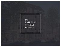 """Real estate brochure - """"De Lairessestraat 145-147"""""""