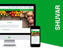 Shuvar — redesign corporate website