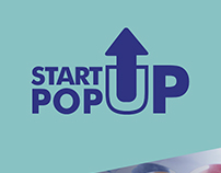 Start up popup logo and poster for NUMA Blr