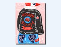 Wooden Beaver // Poster
