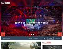 Esport Website Design