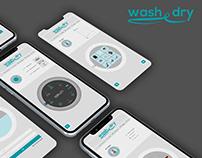 UX/UI Concept Design - Wash & dry