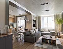 Nice, modern flat