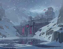 Frozen Fortress | Environment design