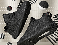 Adidas Yeezy Boost // CG Visuals