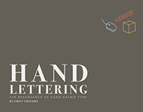 Hand Lettering Typography Catalog