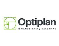OPTIPLAN Smart Budget Management Logo Design