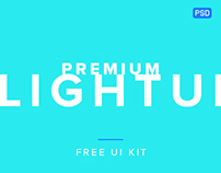 Premium Light UI Kit Template