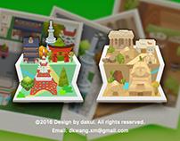 iOS Game Visual Design