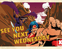 Movie Poster - See You Next Wednesday