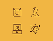 Jeweler Icon Set