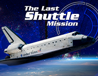 The Last Shuttle Mission: set graphic