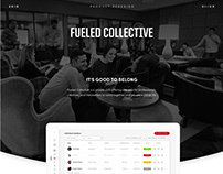 Fueled Collective web app