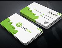 4 Color smart Corporate Business Card