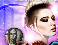 Fantasy | Hair Battle And Expo 8.9.15 | [Flyer]