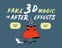 Coming tutorial: Fake 3d Magic in After Effects