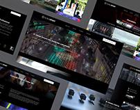 Website SonoSport – Group Entertainment
