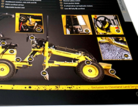 Laser Grader - smooth and carefully levelled brochure