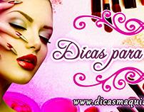 Capa Facebook - Dicas de Maquiagem