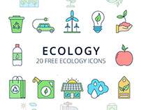 Ecology Vector Free Icon Set