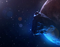 Planet and Asteroid (After Effects) by Cihan Engin